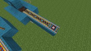 Как сделать ЖД станцию в minecraft?