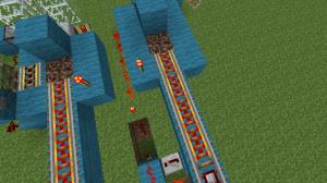 Как сделать железную дорогу в майнкрафт?