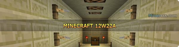 Minecraft 12W22A