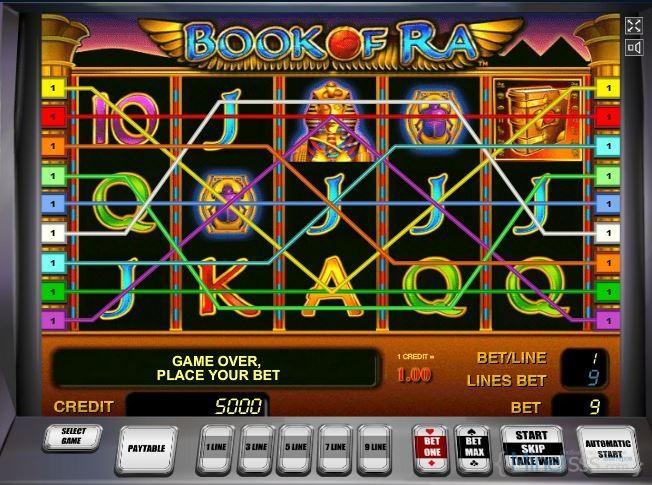 Игровой автомата Книга Ра